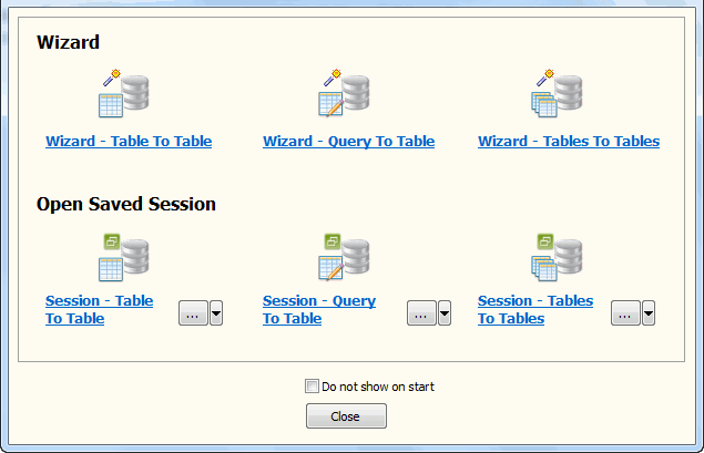 Batch copy data from Azure SQL database tables to local SQL Server database - Task Window