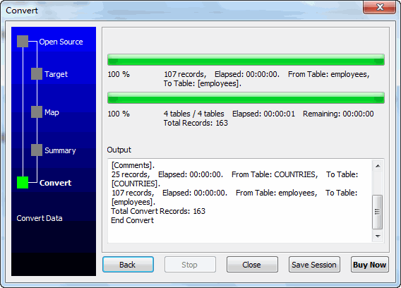 Batch transfer data from Azure SQL database tables to local SQL Server database - import