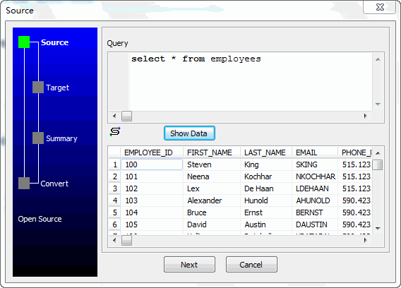 Unload data from Azure SQL database Query Resultset To Excel File - select query