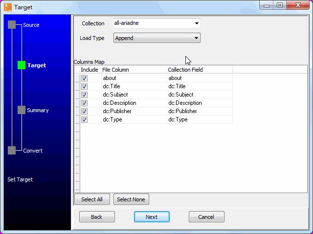 Load RDF file to MongoDB - config MongoDB collection