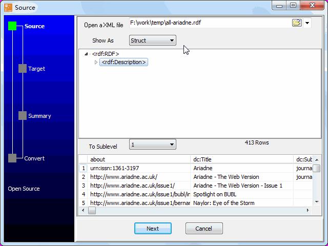 import RDF file to MongoDB - open RDF file
