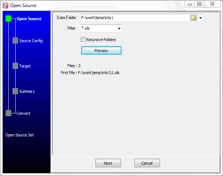Batch import Excel files data To Azure SQL database - select a folder